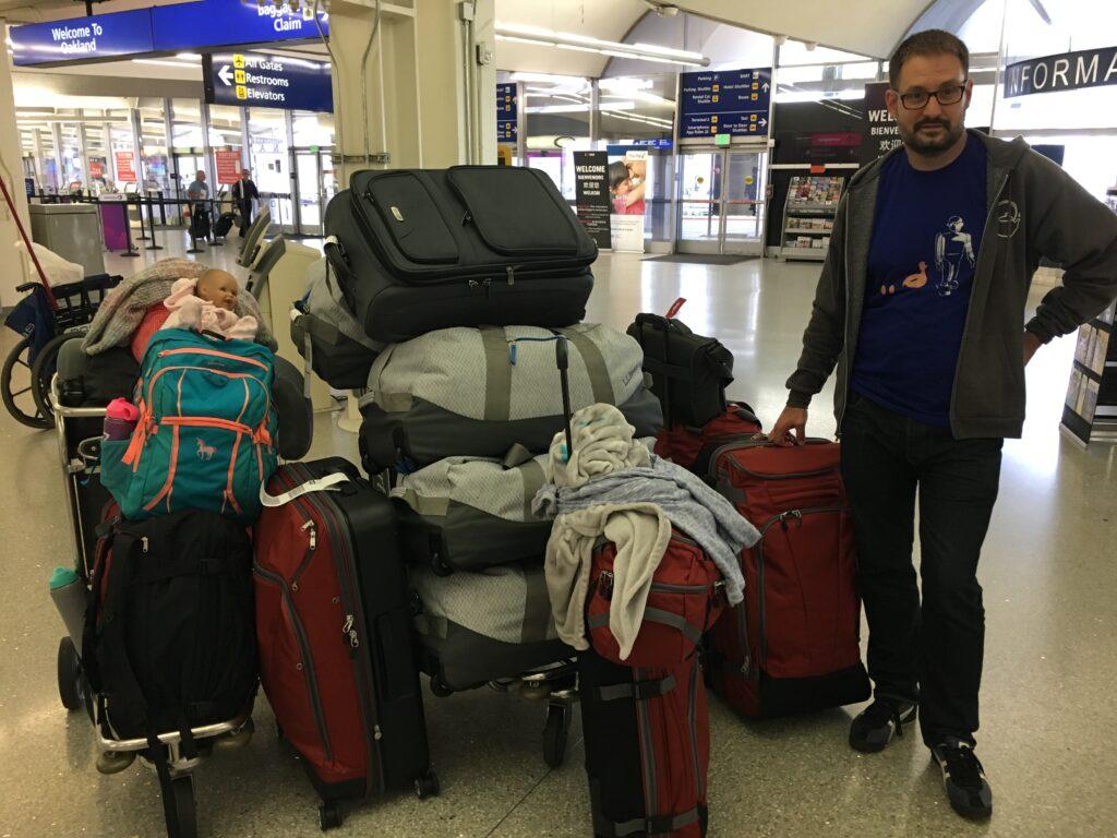 Huge pile o' luggage