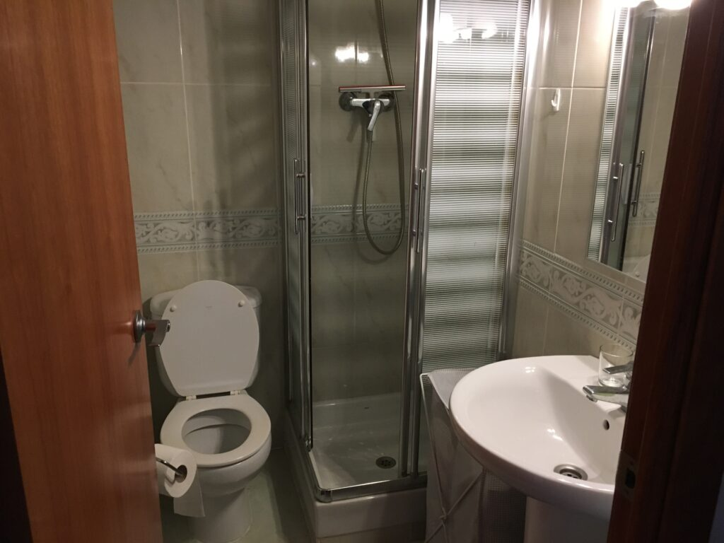 Smaller bathroom